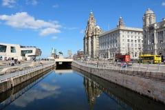 Liverpool Großbritannien Stockfotografie