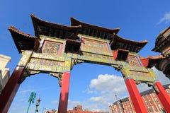 Liverpool Gro?britannien Chinatown lizenzfreies stockfoto