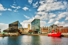 Liverpool HDR Stockbild