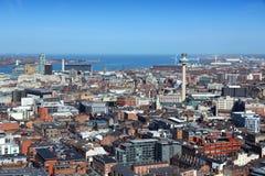 Liverpool het UK royalty-vrije stock afbeelding