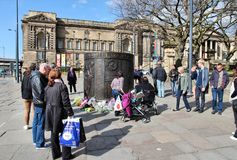 Liverpool - Hillsborough memorial Royalty Free Stock Photo