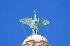 Liverpool. Historici building liverbird liverpool city stock photography