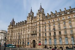 Liverpool Hotel Building, Liverpool, UK royalty free stock images