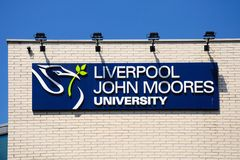 Liverpool John Moores University. Royalty Free Stock Images