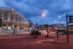 Liverpool-Kalk-Straßenbahnstation Lizenzfreie Stockfotos