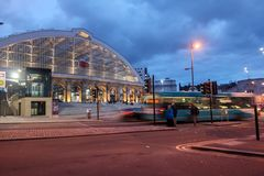 Liverpool-Kalk-Straßenzug statio Lizenzfreie Stockbilder