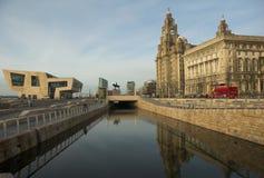 Liverpool-Kanal Lizenzfreie Stockfotografie