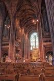 Liverpool katedra Obrazy Royalty Free