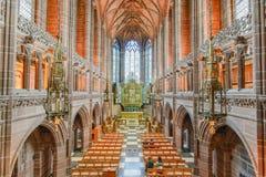 Liverpool katedra Obrazy Stock