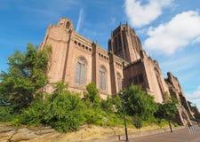 Liverpool katedra w Liverpool Obraz Royalty Free