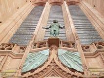 Liverpool katedry wejście Obrazy Royalty Free