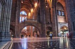Liverpool-Kathedrale Stockfotos