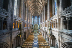 Liverpool Lady Chapel Royalty Free Stock Images