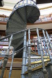 Liverpool Library Spiral Staircase. Interior spiral staircase at the Liverpool Central Library Royalty Free Stock Photo