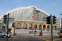 Liverpool Lime Street railway station, Liverpool, UK stock photo