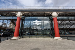 Liverpool Lime Street Station Stock Images