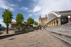 Liverpool Lime Street Train Station Royalty Free Stock Photography