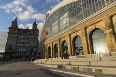 Liverpool Lime Street train station Stock Image