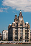 Liverpool Liver Building Stock Photo