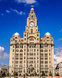 Liverpool Liver Building. Liverpool Capital of culture Liver Building royalty free stock photos