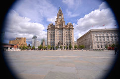 Liverpool Liver building Stock Image