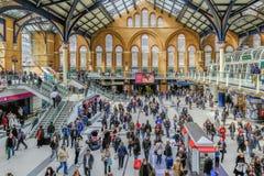 Liverpool Mainline Uliczna stacja w mieście Londyn, Obrazy Royalty Free