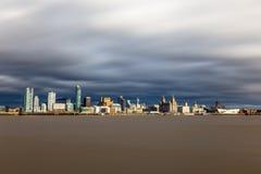 Liverpool Merseyside Fotografia Stock Libera da Diritti