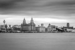 Liverpool Merseyside Fotografia Stock