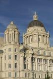 Liverpool, Merseyside, Reino Unido - 24 de junho de 2014, porto da construção da autoridade de Liverpool fotos de stock