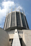 Liverpool metropolitan cathedral. Looking up at tower of glass Stock Image