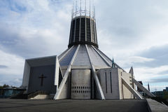 Liverpool Metropolitan Cathedral Royalty Free Stock Images