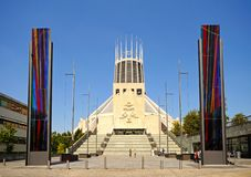 Liverpool Metropolitan Cathedral. Stock Images