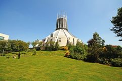 Liverpool Metropolitan Cathedral. Royalty Free Stock Photo