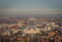 Liverpool Metropolitan Cathedral stock image