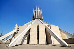 Liverpool Metropolitan Cathedral. Stock Image