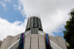 Liverpool Metropolitan Catholic Cathedral of Christ the King Stock Images