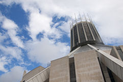 Liverpool Metropolitan Catholic Cathedral of Christ the King Royalty Free Stock Photos