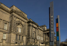 liverpool muzeum. Zdjęcie Royalty Free