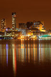 Liverpool night cityscape Royalty Free Stock Photo