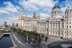 Liverpool old building Royalty Free Stock Photo