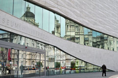 Liverpool Old And new royalty free stock photos