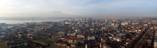 Liverpool Panorama Stock Photo