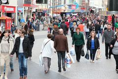Liverpool people Stock Image