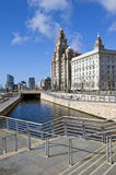 Liverpool Pier Head Fotografia Stock