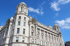 Liverpool - Pier Head Royalty Free Stock Photography