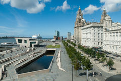 Liverpool Pierhead royalty free stock images