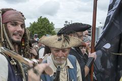 Liverpool Pirate Festival - Editorial Royalty Free Stock Photography