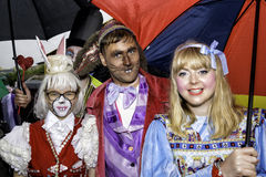 Liverpool Pride - Love is no Crime Alice in Wonderland Royalty Free Stock Photos