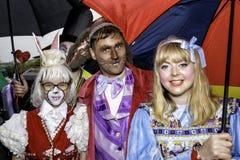 Liverpool Pride - Love is no Crime Alice in Wonderland Royalty Free Stock Photos