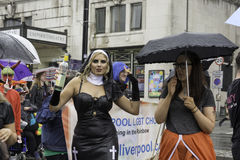 Liverpool Pride - Love is no Crime Stock Photography